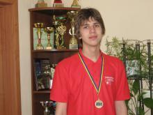 Никиа Гладков обладатель золотой медали по математике