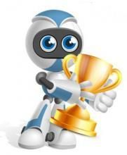 Логотип Соревнований по робототехнике на Кубок Губернатора